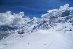 Ausangate, les Andes Image libre de droits