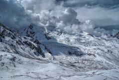Ausangate, los Andes imagen de archivo
