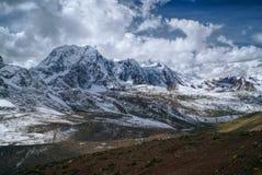 Ausangate, los Andes fotografía de archivo
