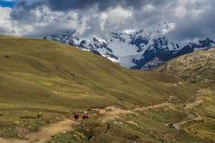 Ausangate, Peru fotografia de stock royalty free