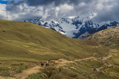 Ausangate, Peru Lizenzfreie Stockfotografie