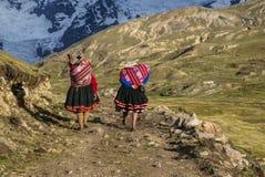 Ausangate, Peru Stockbilder