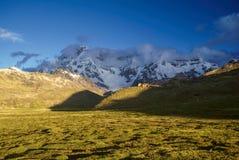 Ausangate, Peru imagens de stock
