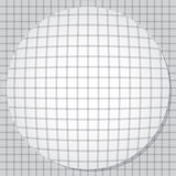 Ausbauchender Kreis Stockfotografie