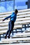 Ausbildung auf Treppe lizenzfreies stockfoto