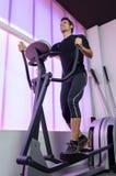 Ausbildung in der Gymnastik stockfotos