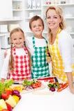 Ausbildung für eine gesunde Diät Lizenzfreies Stockbild