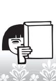 Ausbildung illustration_knowledge lizenzfreie abbildung