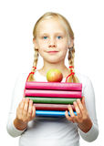 Ausbildung - zurück zu Schule! Nettes Kind Stockfotos