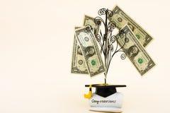 Ausbildungs-Kosten Stockfotografie