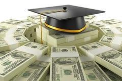 Ausbildungs-Kosten Stockbilder
