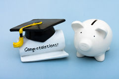 Ausbildungs-Kosten Lizenzfreie Stockfotos