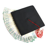 Ausbildungs-Unkosten stockbild