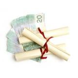 Ausbildungs-Unkosten lizenzfreie stockbilder