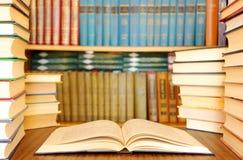 Ausbildungsbücher Stockfoto
