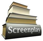 Ausbildungsbücher - Drehbuch lizenzfreie abbildung