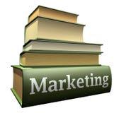 Ausbildungsbücher - Marketing Lizenzfreie Stockbilder
