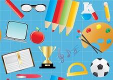 Ausbildungshintergrund stock abbildung