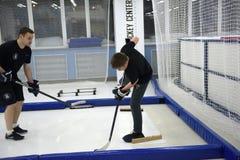 Ausbildungskomplex für Hockeyspieler, Lizenzfreies Stockfoto