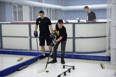 Ausbildungskomplex für Hockeyspieler, Lizenzfreie Stockfotos