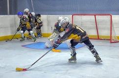 Ausbildungskomplex für Hockeyspieler, Stockfotos