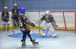 Ausbildungskomplex für Hockeyspieler, Stockbilder