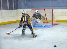 Ausbildungskomplex für Hockeyspieler, Lizenzfreies Stockbild