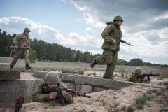 Ausbildungsstätte von bewaffneten Kräften von Ukraine Lizenzfreies Stockfoto