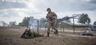 Ausbildungsstätte von bewaffneten Kräften von Ukraine Lizenzfreie Stockfotografie