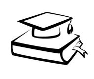 Ausbildungssymbol, Wissenskonzept Lizenzfreies Stockbild