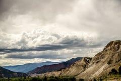 Ausblasen-Hügel Colorado stockfotos