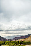 Ausblasen-Hügel Colorado lizenzfreies stockbild