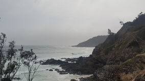 Ausblick bei Byron Bay Lizenzfreie Stockfotografie