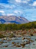 Ausblick Cerro-Torre, EL Chalten, Argentinien Lizenzfreies Stockbild