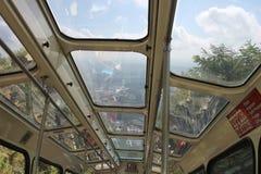 Ausblick-Gebirgsneigungs-Eisenbahn, Chattanooga, TN stockfotografie