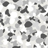 An Auscam snow seamless pattern Royalty Free Stock Photo