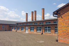 Auschitz Birkenau, fascist extermination camp ,Poland Stock Photography