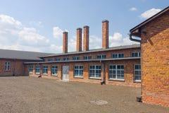 Auschitz Birkenau, fascist extermination camp ,Poland Stock Photography