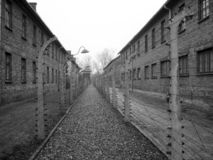 auschvitzbirkenau holocaust3 arkivbild