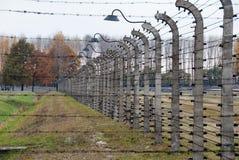Auschwitz博物馆 图库摄影