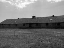 Auschwitz集中营 库存照片