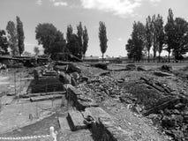 Auschwitz集中营 免版税库存照片