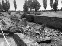 Auschwitz集中营 免版税图库摄影