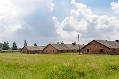 Auschwitz ΙΙ - αποδοκιμασίες Birkenau Στοκ φωτογραφία με δικαίωμα ελεύθερης χρήσης