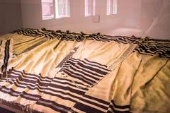 AUSCHWITZ, ΠΟΛΩΝΙΑ - 11 Ιουλίου 2017 Μέρος του concentrati Auschwitz Στοκ Φωτογραφίες