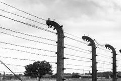 AUSCHWITZ, ΠΟΛΩΝΙΑ - 11 Ιουλίου 2017 Μέρος του concentrati Auschwitz Στοκ εικόνες με δικαίωμα ελεύθερης χρήσης