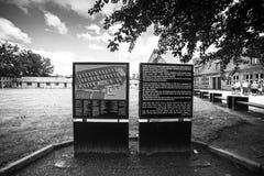 AUSCHWITZ, ΠΟΛΩΝΙΑ - 11 Ιουλίου 2017 Μέρος του concentrati Auschwitz Στοκ εικόνα με δικαίωμα ελεύθερης χρήσης