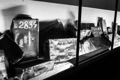 AUSCHWITZ, ΠΟΛΩΝΙΑ - 11 Ιουλίου 2017 Μέρος του concentrati Auschwitz Στοκ φωτογραφία με δικαίωμα ελεύθερης χρήσης