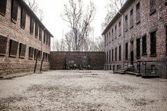 2 auschwitz στρατόπεδων πολεμικός κόσμος καθεστώτος της Πολωνίας συγκέντρωσης ναζιστικός Στοκ Φωτογραφία
