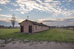 2 auschwitz στρατόπεδων πολεμικός κόσμος καθεστώτος της Πολωνίας συγκέντρωσης ναζιστικός Αποδοκιμασίες στρατόπεδο συγκέντρωσης Au Στοκ Φωτογραφία